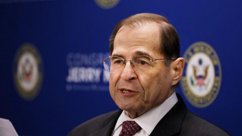 House Judiciary Committee Chairman Jerrold Nadler holds a news conference on April 18, 2019 in New York City. (Spencer Platt/Getty Images)