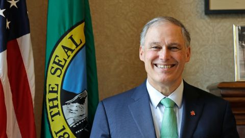 Jay Inslee has been Washington's governor since 2013.