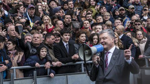 Polls suggest Zelensky is the favorite to beat incumbent president Petro Poroshenko in Sunday's vote.