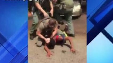 Video shows a Broward County, Florida, Sheriff's Office deputy slamming the head of a 15-year-old boy.