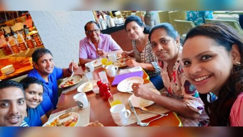 Television chef Shantha Mayadunne and her daughter Nisanga Mayadunne were killed in the explosion at the Shangri-La Hotel, Colombo on Sunday according to two immediate family members.