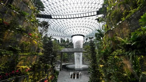 <strong>Singapore: </strong>Following four years of construction and nonstop media coverage, Singapore's long-awaited Jewel Changi Airport opened in April. <br />