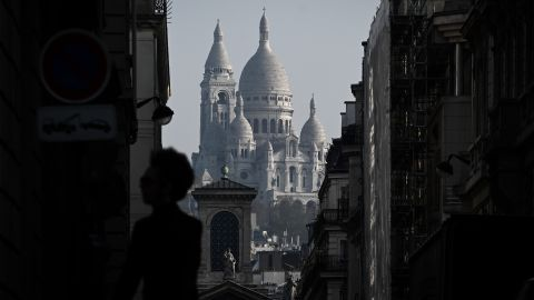 <strong>Paris:</strong> Sacré-Cœur Basilica, a Roman Catholic church, stands on Montmartre hill, the highest point in the French capital.