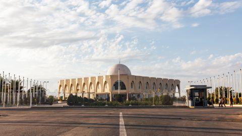 <strong>Nouakchott: </strong>The Palais des Congrès convention center in Nouakchott, the capital of Mauritania.