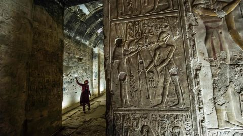 <strong>Abydos, Egypt:</strong> The ancient city of Abydos is one of the oldest in Egypt. The Memorial Temple of Seti I (pictured) was built in the 16th to 11th centuries BCE. <br /><br />
