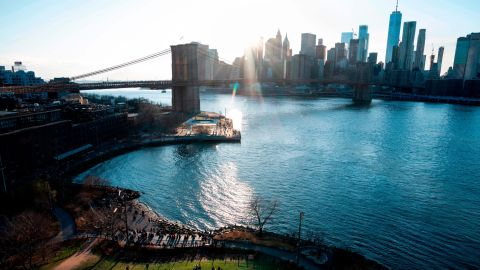 <strong>New York City</strong><strong>: </strong>Brooklyn Bridge, completed 1883, was the world's first steel-wire suspension bridge, as well as the first fixed crossing across New York's East River.