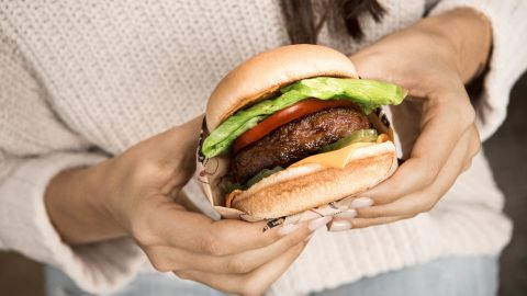 Beyond Meat makes plant-based proteins designed to taste and look like meat.