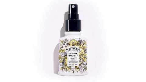 """<strong>PooPourri Before You Go Spray (starting at $5.49; </strong><a href=""""https://www.amazon.com/Poo-Pourri-Before-You-Go-Toilet-Bottle-Original/dp/B019HMQU32/ref=as_li_ss_tl?fst=as:off&qid=1555960052&refinements=p_72:1248903011&rnid=1248901011&s=hpc&sr=1-3&th=1&linkCode=ll1&tag=021850fivesta-20&linkId=051ef2f63315b0cef4a82e7d93d413d8&language=en_US"""" target=""""_blank"""" target=""""_blank""""><strong>amazon.com</strong></a><strong>)</strong><br />"""