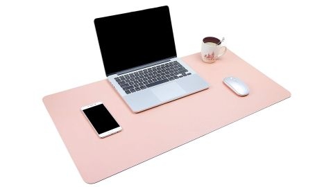 "<strong>Office Desk Pad (starting at $12.99; </strong><a href=""https://www.amazon.com/Office-YSAGi-Waterproof-Leather-Writing/dp/B07B9QT78R/ref=as_li_ss_tl?ie=UTF8&linkCode=ll1&tag=021850fivestar-20&linkId=6a78e510c98900fba868049d83fac339&language=en_US"" target=""_blank"" target=""_blank""><strong>amazon.com</strong></a><strong>)</strong><br />"