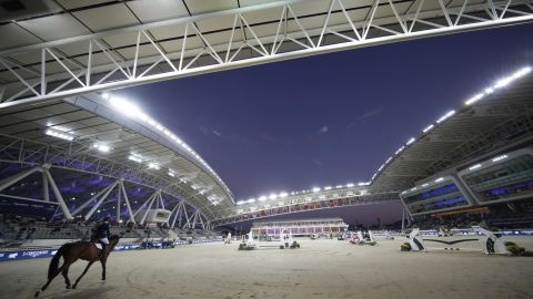 The event was held at the state-of-the-art Al Shaqab Equestrian Facility in Doha.