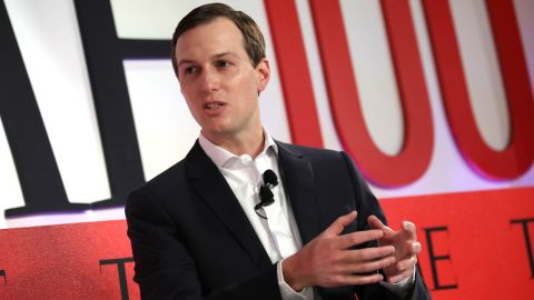 Jared Kushner participates in a panel discussion during the TIME 100 Summit 2019 on April 23, 2019 in New York City. (Brian Ach/Getty Images for TIME)