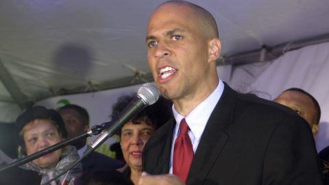 Booker concedes defeat after losing the 2002 mayoral race to incumbent Sharpe James. But he would be back four years later.
