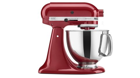 """<strong>KitchenAid Artisan Tilt-Head Stand Mixer with Pouring Shield ($279.35, originally $429; </strong><a href=""""https://amzn.to/2GxgRFB"""" target=""""_blank"""" target=""""_blank""""><strong>amazon.com</strong></a><strong>)</strong>"""