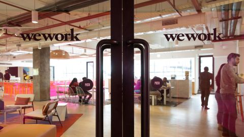 The New York-based co-working giant WeWork Cos, which operates shared office spaces around the world, has attracted huge piles of investor money.