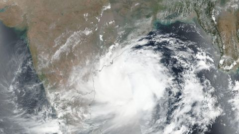 Cyclone Fani is due to make landfall Friday in India's Odisha state.