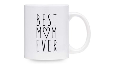 """<strong>Tekoware Best Mom Ever Coffee Mug ($13.94; </strong><a href=""""https://amzn.to/2PHhX5P"""" target=""""_blank"""" target=""""_blank""""><strong>amazon.com</strong></a><strong>)</strong><br />A """"Best Mom Ever"""" mug, because who doesn't love a cute mug?<br />"""