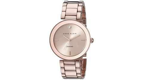 """<strong>Anne Klein Women's AK/1362 Diamond-Accented Bracelet Watch ($58.99, originally $75; </strong><a href=""""https://amzn.to/2PDarsT"""" target=""""_blank"""" target=""""_blank""""><strong>amazon.com</strong></a><strong>)</strong><br />Help mom keep track of time with this stylish rose gold watch<br />"""