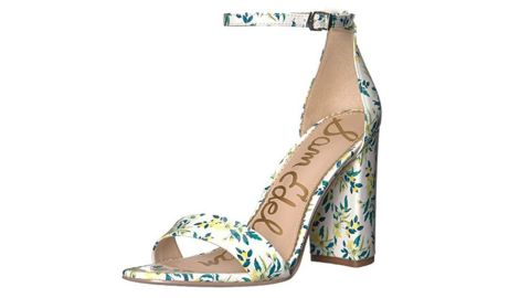 """<strong>Sam Edelman Women's Yaro Heeled Sandal (starting at $36.24; </strong><a href=""""https://amzn.to/2LeptXm"""" target=""""_blank"""" target=""""_blank""""><strong>amazon.com</strong></a><strong>)</strong><br />Spring is in the air and these floral printed sandals will help mom look stylish all season long<br />"""