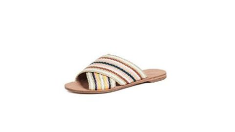 """<strong>Diane von Furstenberg Women's Cindi Slide Sandals ($198; </strong><a href=""""https://amzn.to/2ZLvuhq"""" target=""""_blank"""" target=""""_blank""""><strong>amazon.com</strong></a><strong>)</strong><br />Mom will love wearing these cute sandals to the beach, brunch and everywhere in between this summer<br /><br />"""