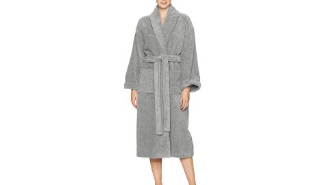 """<strong>Pinzon by Amazon Terry Cotton Bathrobe ($29.99; </strong><a href=""""https://amzn.to/2DHTpVs"""" target=""""_blank"""" target=""""_blank""""><strong>amazon.com</strong></a><strong>)</strong><br />Mom is sure to love wrapping herself up in this luxe terry cotton bathrobe<br />"""