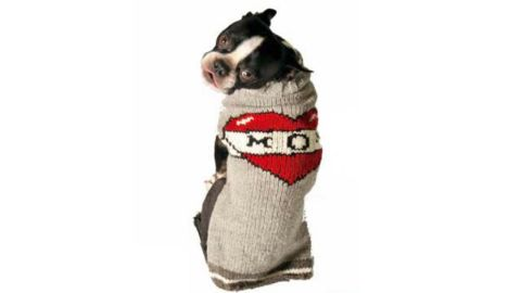 """<strong>Chilly Dog Tattooed Mom Dog Sweater ($16.99; </strong><a href=""""https://amzn.to/2LghjOj"""" target=""""_blank"""" target=""""_blank""""><strong>amazon.com</strong></a><strong>)</strong><br />Show mom and her pup some love with a cute """"mom"""" sweater<br />"""