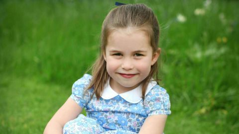 """Kensington Palace released this undated photo of Charlotte <a href=""""https://edition.cnn.com/2019/05/01/uk/princess-charlotte-birthday-photos-trnd/index.html"""" target=""""_blank"""">to mark her fourth birthday</a> in May 2019. The photo was taken by Charlotte's mother Catherine, the Duchess of Cambridge, at their home in Norfolk, England. Charlotte is fourth in line to the British throne behind her grandfather, Prince Charles; her father, William; and her big brother, George."""