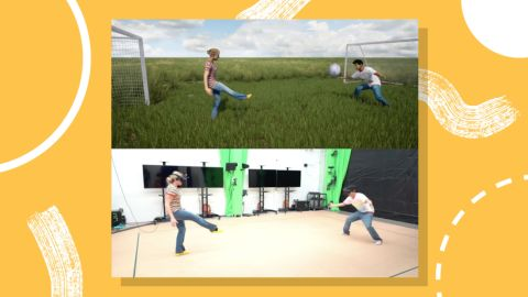 Facebook researchers are testing ways to make full-body avatars that move when you do.