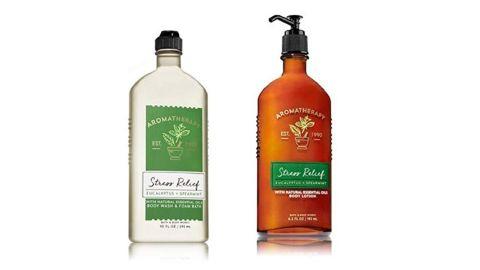 "Bath & Body Works Aromatherapy Stress Relief Bundle ($21.88; <a href=""https://amzn.to/2J4ezkp"" target=""_blank"" target=""_blank"">amazon.com</a>)"