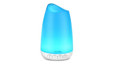 """Essential Oil Diffuser and Humidifier ($15.89; <a href=""""https://amzn.to/2J9t8mP"""" target=""""_blank"""" target=""""_blank"""">amazon.com</a>)"""