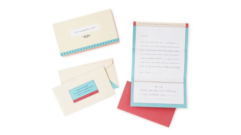 """""""Letters to My Mom"""" ($16; <a href=""""https://www.uncommongoods.com/product/letters-to-my-mom"""" target=""""_blank"""" target=""""_blank"""">uncommongoods.com</a>)"""
