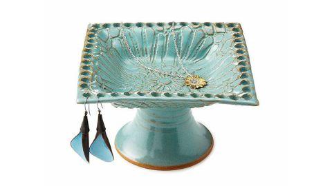 "Pedestal Jewelry Holder ($48; <a href=""https://www.uncommongoods.com/product/pedestal-jewelry-holder"" target=""_blank"" target=""_blank"">uncommongoods.com</a>)"