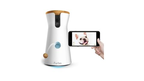 """<strong>If you want to check up on Fido while you're away, or just in another room, the Furbo can provide a live feed. -- Furbo Dog Camera ($199, originally $249; </strong><a href=""""https://amzn.to/2Vb91vF"""" target=""""_blank"""" target=""""_blank""""><strong>amazon.com</strong></a><strong>)</strong>"""