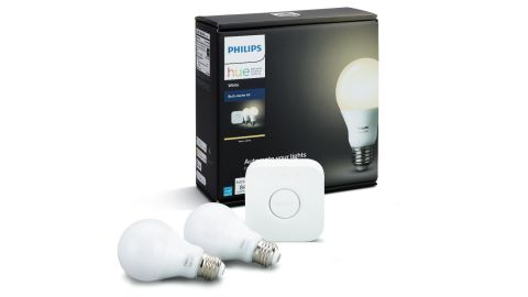 """<strong>When you think of smart lighting, Philips Hue likely comes to mind, and this starter kit is a great way to start smart lighting. -- Philips Hue White A19 Smart Bulb Starter Kit ($59.99, originally $69.99; </strong><a href=""""https://amzn.to/2VfTw5P"""" target=""""_blank"""" target=""""_blank""""><strong>amazon.com</strong></a><strong>)</strong>"""