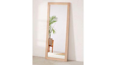 "<strong>Simple Wood Mirror ($199, originally $179; </strong><a href=""https://click.linksynergy.com/deeplink?id=Fr/49/7rhGg&mid=43176&u1=0503fivestarhome&murl=https%3A%2F%2Fwww.urbanoutfitters.com%2Fshop%2Fsimple-wood-mirror"" target=""_blank"" target=""_blank""><strong>urbanoutfitters.com</strong></a><strong>)</strong><br />"