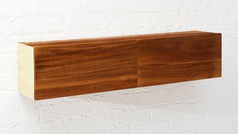 "<strong>Hide N Seek Acacia Wood Storage Shelf ($149; </strong><a href=""https://www.cb2.com/hide-n-seek-acacia-wood-storage-shelf/s493886?"" target=""_blank"" target=""_blank""><strong>cb2.com</strong></a><strong>)</strong><br />"