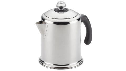 "<strong>Farberware Classic Stainless Steel Yosemite 12-Cup Coffee Percolator ($37.99; </strong><a href=""http://linksynergy.walmart.com/deeplink?id=Fr/49/7rhGg&mid=2149&u1=0503fivestarhome&murl=https%3A%2F%2Fwww.walmart.com%2Fip%2FFarberware-Classic-Stainless-Steel-Yosemite-12-Cup-Coffee-Percolator%2F876632085"" target=""_blank"" target=""_blank""><strong>walmart.com</strong></a><strong>)</strong>"