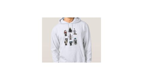 """<strong>Star Wars Droids Customizable Hoodie ($36.95; </strong><a href=""""https://www.shopdisney.com/solo-a-star-wars-story-droids-hoodie-for-men-customizable-1473499"""" target=""""_blank"""" target=""""_blank""""><strong>shopdisney.com</strong></a><strong>)</strong><br />"""