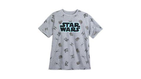 "<strong>Star Wars Family T-Shirt for Men ($15, originally $24.95; </strong><a href=""https://www.shopdisney.com/star-wars-family-t-shirt-for-men-1503026"" target=""_blank"" target=""_blank""><strong>shopdisney.com</strong></a><strong>)</strong><br />"