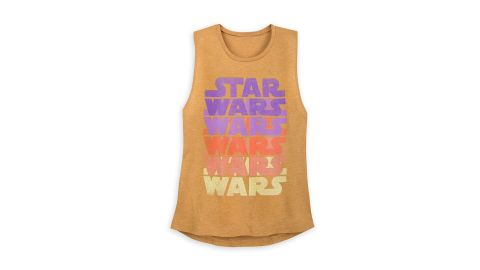"<strong>Star Wars Retro Tank Top for Women ($24.95; </strong><a href=""https://www.shopdisney.com/star-wars-retro-tank-top-for-women-1504515"" target=""_blank"" target=""_blank""><strong>shopdisney.com</strong></a><strong>)</strong><br />"