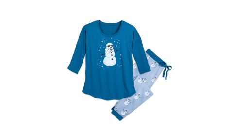 """<strong>Stormtrooper Holiday Pajama Set for Women ($44.99, originally $64.95; </strong><a href=""""https://www.shopdisney.com/stormtrooper-holiday-pajama-set-for-women-by-munki-munki-1484028"""" target=""""_blank"""" target=""""_blank""""><strong>shopdisney.com</strong></a><strong>)</strong>"""