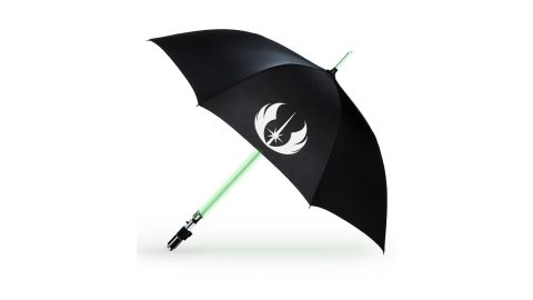 "<strong>Yoda Light-Up Lightsaber Umbrella ($69.99; </strong><a href=""https://www.shopdisney.com/yoda-light-up-lightsaber-umbrella-1425521?CMP=KNC-DSSGoogle&efc=179006&gclid=CjwKCAjwza_mBRBTEiwASDWVvr-XXRFyb0hsQz-guJCMEhjMMM7Zwu0QEojezCaB-pjo01YB_MZrFBoC6pAQAvD_BwE&gclsrc=aw.ds"" target=""_blank"" target=""_blank""><strong>shopdisney.com</strong></a><strong>)</strong><br />"