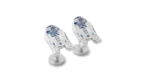 """<strong>Star Wars R2-D2 Cufflinks ($65; </strong><a href=""""https://click.linksynergy.com/deeplink?id=Fr/49/7rhGg&mid=1237&u1=0503starwarsday&murl=https%3A%2F%2Fshop.nordstrom.com%2Fs%2Fcufflinks-inc-star-wars-r2d2-cuff-links%2F4465072%3Forigin%3Dkeywordsearch-personalizedsort%26breadcrumb%3DHome%252FAll%2520Results%26color%3Dgrey%2520multi"""" target=""""_blank"""" target=""""_blank""""><strong>nordstrom.com</strong></a><strong>)</strong><br />"""