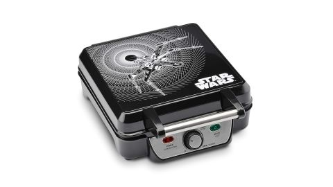 """<strong>Star Wars 4-Waffle Maker ($35.99, originally $39.99; </strong><a href=""""https://amzn.to/2Y15RaA"""" target=""""_blank"""" target=""""_blank""""><strong>amazon.com</strong></a><strong>)</strong><br />"""