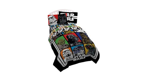 """<strong>Lucas Film Star Wars Classic Twin/Full Reversible Comforter ($33.19; </strong><a href=""""https://amzn.to/2Wpklke"""" target=""""_blank"""" target=""""_blank""""><strong>amazon.com</strong></a><strong>)</strong><br />"""