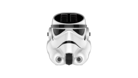 """<strong>Star Wars Stormtrooper Toaster ($29.99, originally $49.99; </strong><a href=""""https://amzn.to/2DNQH13"""" target=""""_blank"""" target=""""_blank""""><strong>amazon.com</strong></a><strong>)</strong>"""