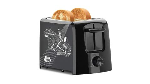 """<strong>Star Wars 2-Slice Toaster ($11.42, originally $19.99; </strong><a href=""""https://amzn.to/2GYPmpU"""" target=""""_blank"""" target=""""_blank""""><strong>amazon.com</strong></a><strong>)</strong><br />"""