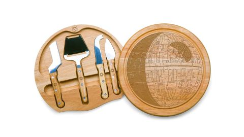 """<strong>Death Star Circo Cheese Set with Cheese Tools ($34.99, originally $44.95; </strong><a href=""""https://amzn.to/2H3pr0x"""" target=""""_blank"""" target=""""_blank""""><strong>amazon.com</strong></a><strong>)</strong><br />"""