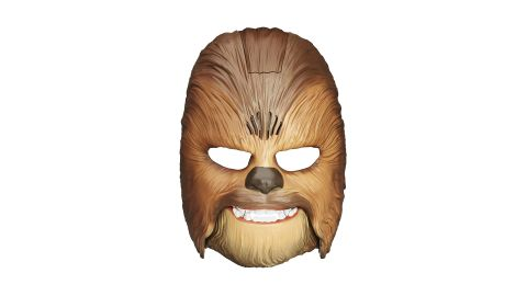 """<strong>Star Wars Movie Roaring Chewbacca Wookiee Sounds Mask ($31.99; </strong><a href=""""https://amzn.to/2VKLGjY"""" target=""""_blank"""" target=""""_blank""""><strong>amazon.com</strong></a><strong>)</strong><br />"""
