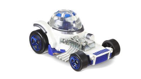 """<strong>Hot Wheels Star Wars Character Cars 40th New Hope R2-D2 Vehicle ($7.99; </strong><a href=""""https://amzn.to/2LvB70m"""" target=""""_blank"""" target=""""_blank""""><strong>amazon.com</strong></a><strong>)</strong><br />"""