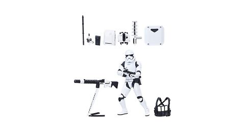 """<strong>Star Wars The Black Series First Order Stormtrooper with Gear ($34.99; </strong><a href=""""https://amzn.to/2Vh5dZV"""" target=""""_blank"""" target=""""_blank""""><strong>amazon.com</strong></a><strong>)</strong><br />"""